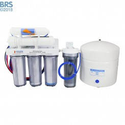 6 Stage 75 GPD Drinking & Reef RO/DI System - BRS