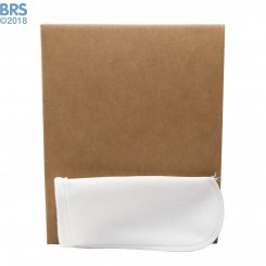 """Case (100) 4"""" x 14"""" BRS Felt Filter Sock with Draw String"""