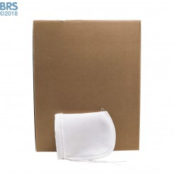 """Case (100) 4"""" x 8"""" BRS Felt Filter Sock with Draw String"""