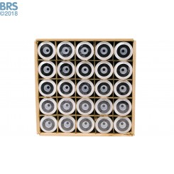 Case (25) of BRS Chlorine & VOC Carbon Block Filters - 5 Micron (RO/DI)