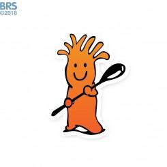 Mr. Chili Static Cling - BRS