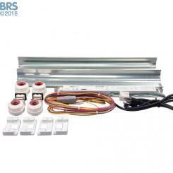 4 Ft LET Lighting 2x54W Miro-4 T5 High Output Retrofit Kit