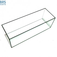 12 Gallon Bookshelf Rimless Tank - Standard Glass