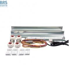 5 Ft 2 x 80 Watt T5 HO Miro-4 Retrofit Kit (OPEN BOX)
