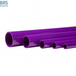 Violet Schedule 40 Pipe (58 Inch)