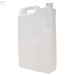 Space Saver Jug - Thin 4 Liter (1.05 Gallon) - Bulk Reef Supply