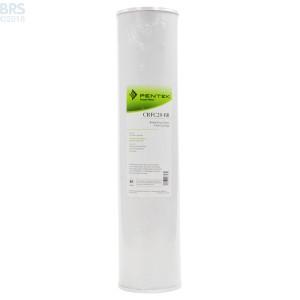 Pentek CRFC20-BB Carbon Block (Chloramines Monster)