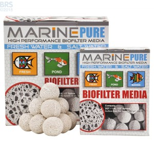 "MarinePure Ceramic Biomedia 1½"" Spheres  - Two Sizes"