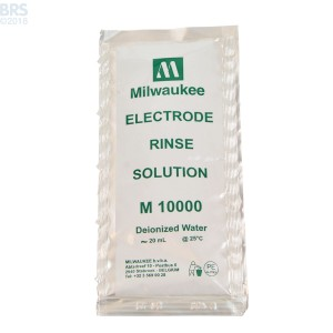 Milwaukee Instruments Electrode Rinse Solution, Single Use Packets