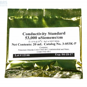 Neptune Systems Conductivity Calibration Solution - 53.0