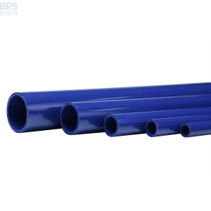Blue Schedule 40 Pipe (46 Inch)