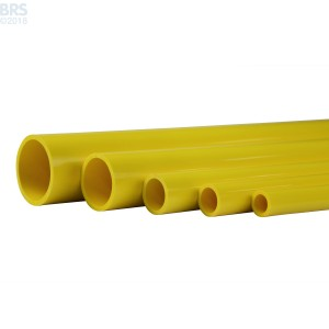 Yellow Schedule 40 Pipe (46 Inch)
