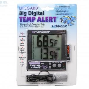 Big Digital Temp Alert - Lifegard