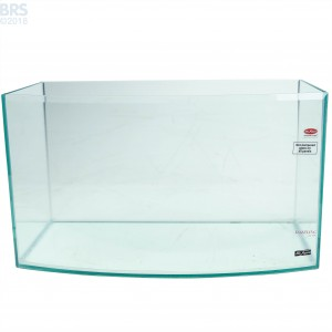 7.5 Gallon Rimless Bow Front Aquarium - Mr. Aqua