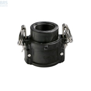 Female Thread Cam Lever Quick Connect Coupling - D
