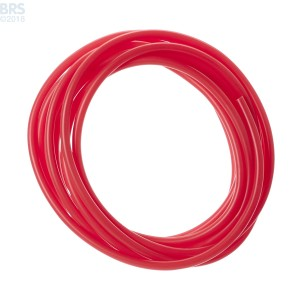 Red Colour-Tracer Silicone Tubing - Skimz