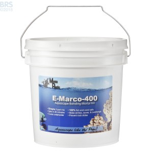 E-Marco-400 Aquascaping Mortar Complete Kit - Grey - MarcoRocks