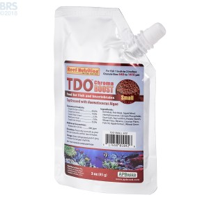 TDO Chroma BOOST Small Granule Fish Food - Reef Nutrition