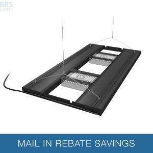 """36"""" Hybrid T5HO 4x39W Fixture with LED Mounting System - Aquatic Life"""