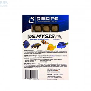 Frozen Mysis Shrimp - Piscine Energetics