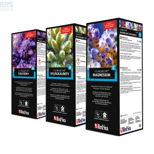 250mL Reef Foundation Package (Ca/Alk/Mag) - Red Sea