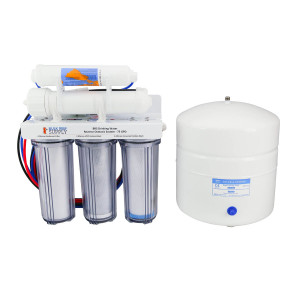 BRS 5 Stage Drinking Water RO System - 75GPD (RO/DI)