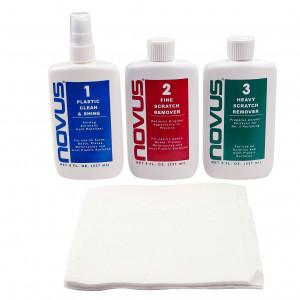 Plastic & Acrylic Polish Kit - 8 oz - Novus