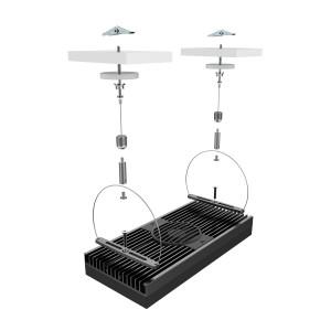 EXT Single Module Hanging Kit (Black) - Aqua Illumination