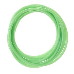 Green Colour-Tracer Silicone Tubing - Skimz