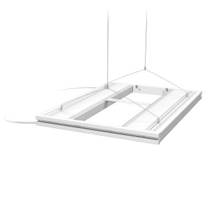 "24"" Hybrid T5HO 4x24W Fixture with LED Mounting System White - Aquatic Life"