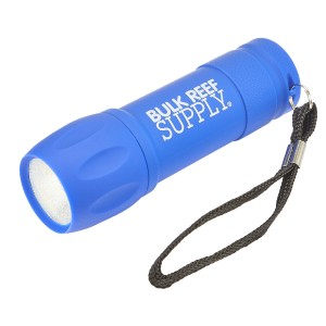 BRS Rubberized COB Flashlight