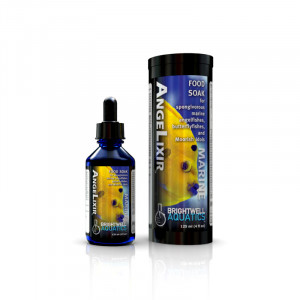 AngeLixir - Food Soak for Spongivorous Marine Fishes - Brightwell Aquatics (Fish and Coral Foods)