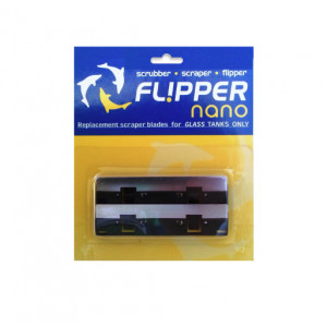 Flipper Nano Replacement Stainless Steel Blades - 2pk (