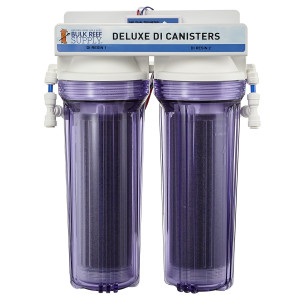 Dual Deionization Canister with DM-1 Dual TDS Meter - Bulk Reef Supply