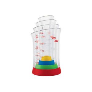 4-Piece Mini Measuring Beaker Set