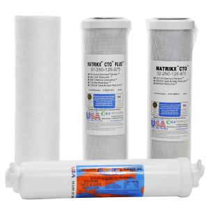 Matrikx 4 Stage RO Drinking Water Replacement Filter Kit
