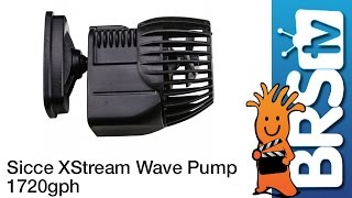 Sicce XStream Wave Pump 6500 1720GPH Flow Dynamics