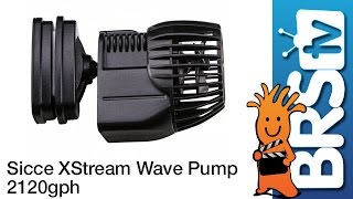 Sicce XStream Wave Pump 8000 2120GPH Flow Dynamics