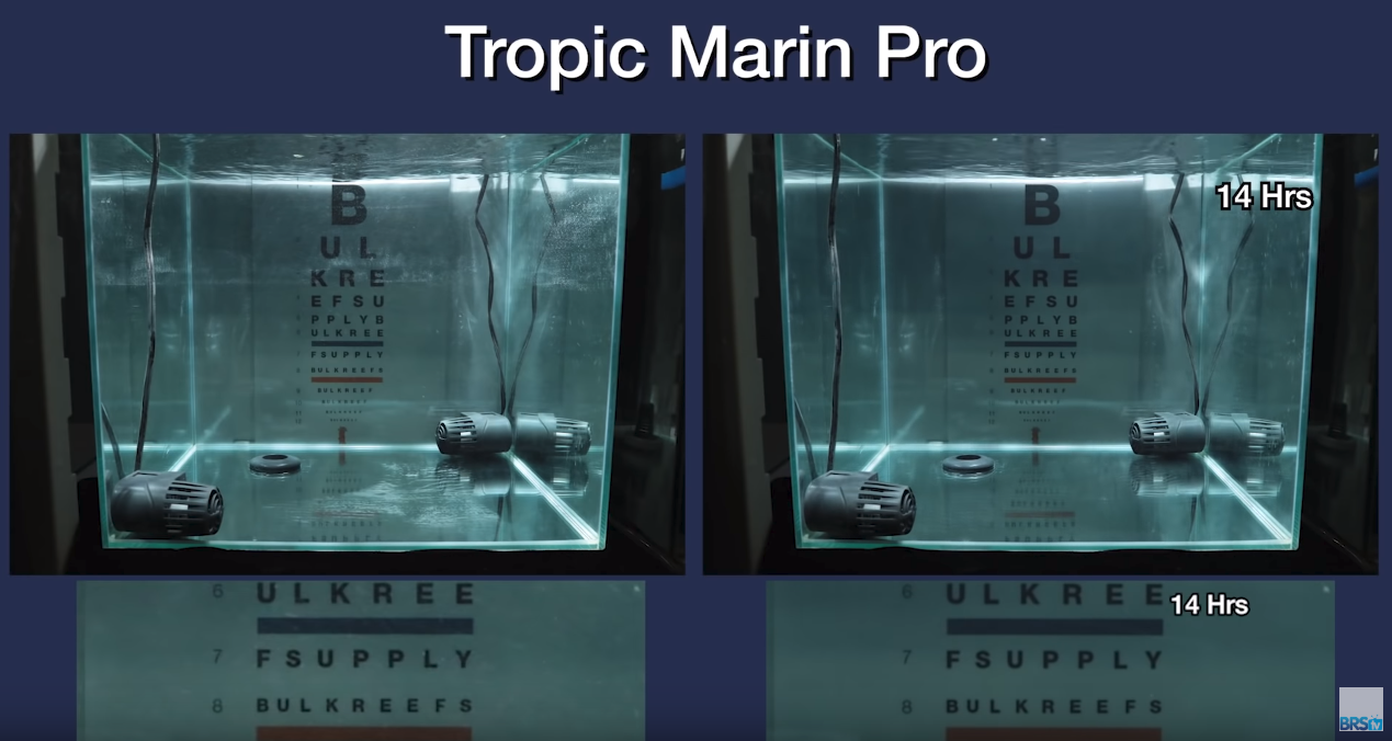 Saltwater Clarity Chart Tropic Marine Pro