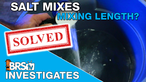 How long does it take to mix saltwater - Thumbnail