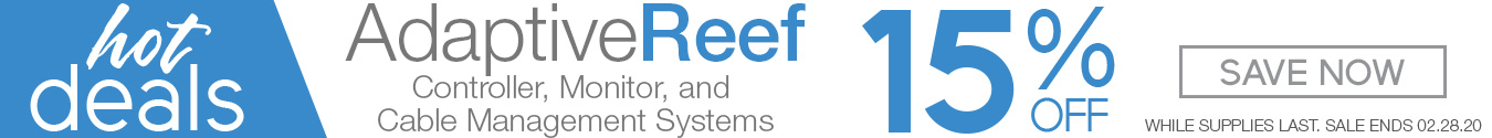 Save 15 off Adaptive Reef