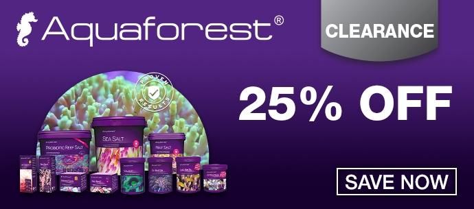 Aquaforest 25 percent off clearance