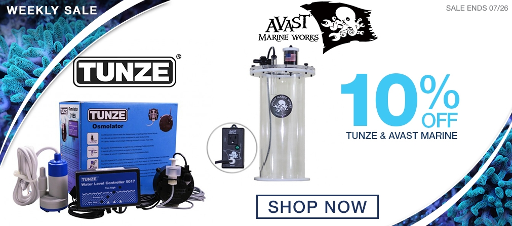 Weekly Sale - 10% off Tunze & Avast