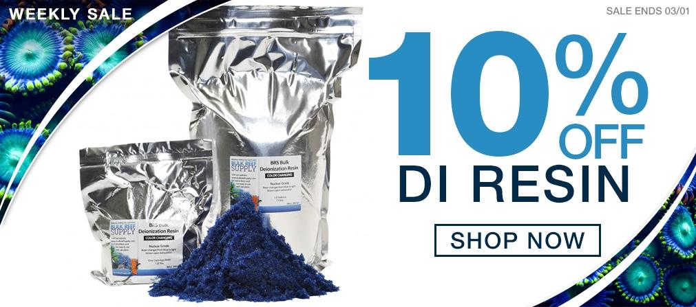 Weekly Saltwater Gear Sale - 10% off DI Resin