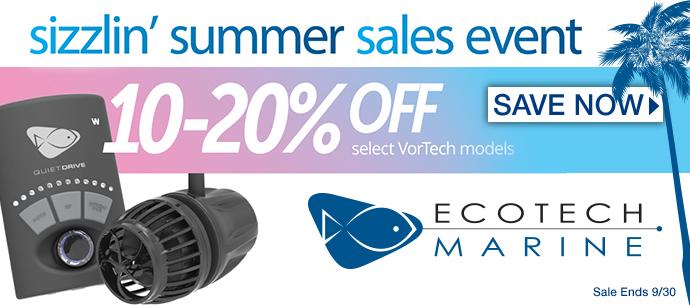 Ecotech Summer Sale - Save on Vortech Pumps
