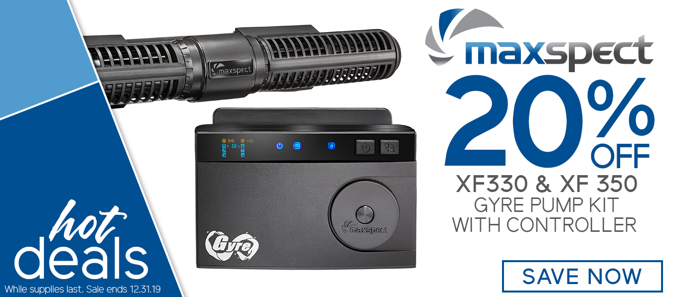 20% off Maxspect Gyre Pumps and Controllers