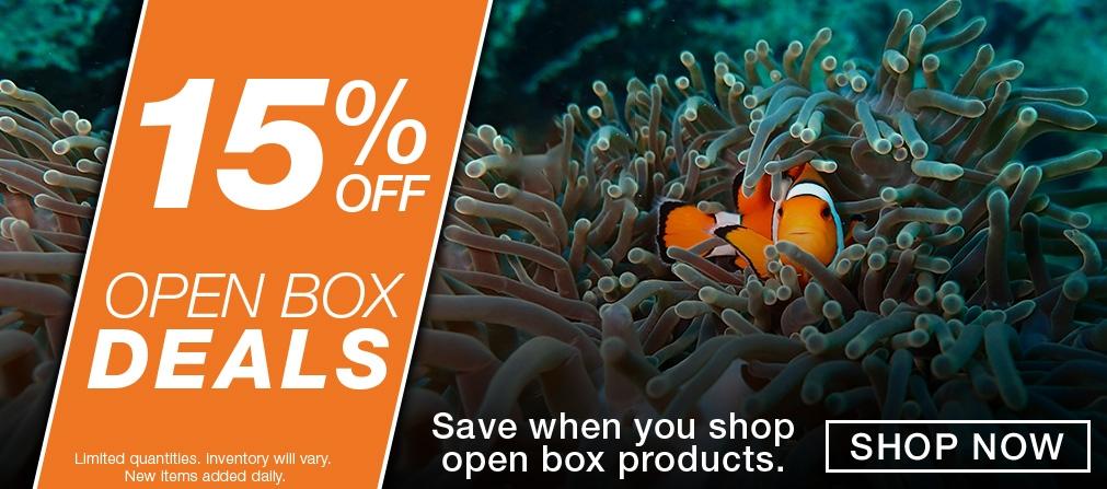 Open Box Savings