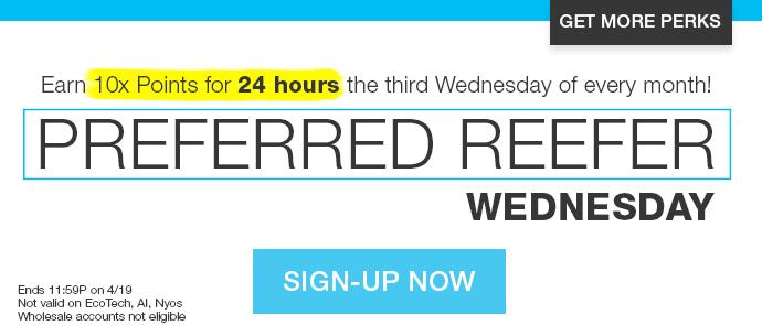 Preferred Reefer Sign Up