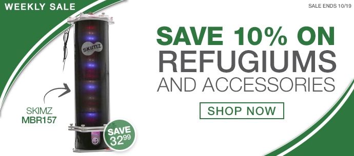 10% off Refugiums