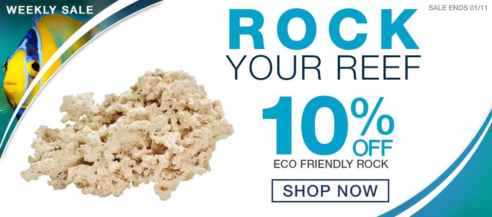 Weekly Saltwater Gear Sale - 10% off Eco Friendly Rock